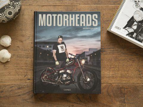 Motorheads Buch, Danny Schneider, Mat Rebeaud, Rahel Frey, Tom Luethi, Zoe Scarlet, Nick Eggenschwiler, Janina Martig, Neel Jani